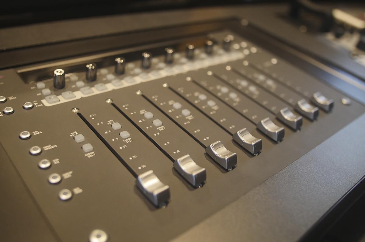 SSL Recording Studio Console